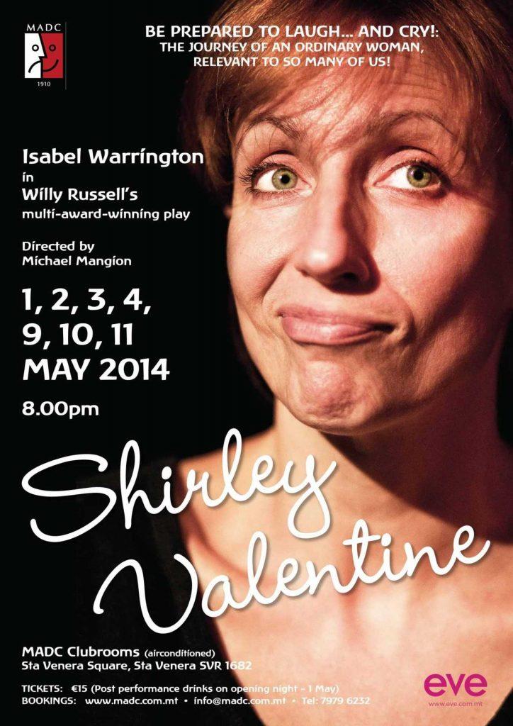 Shirley Valentine poster 1 2