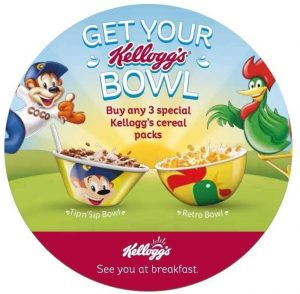 Kellogg's - Back to School - Cereal Bowls Offer