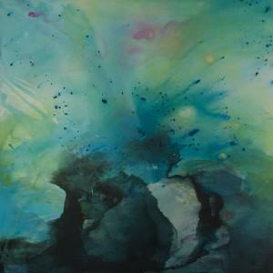 Remora, Mixed medium, painting, art, artwork, painting, abstract, artist, canvas, Anna Nightingale