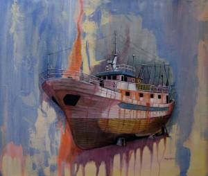 Dghajsa tas-Sajd, fishing boat, boat, Malta, Raymond Dominic Agius,