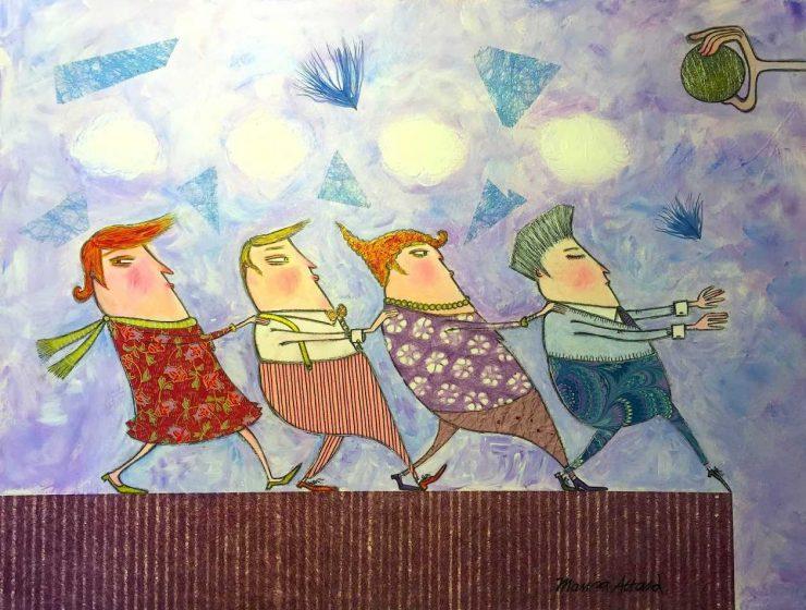 Follow the Leader by Marisa Attard