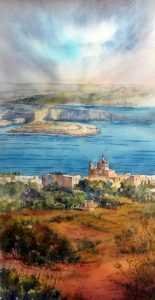 View from Nadur by  Jacqueline Agius