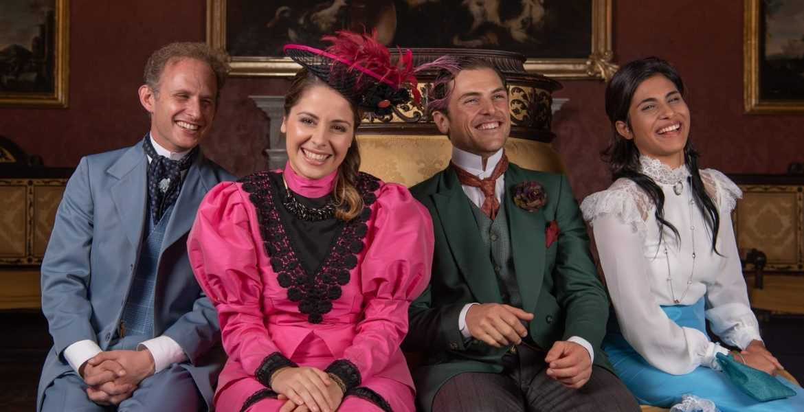 Edward Caruana Galizia, Maxine Aquilina, Davide Tucci, Michela Farrugia in The Importance of Being Earnest