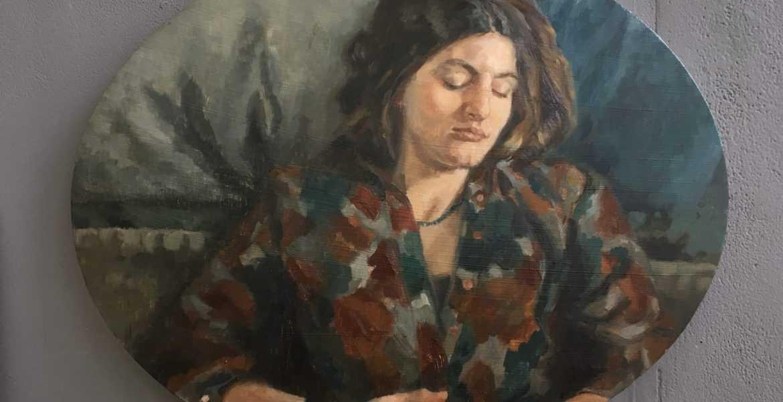 Anna Calleja - Self Portrait: Escape
