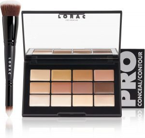 LORAC PRO CONCEAL/CONTOUR PALETTE AND BRUSH